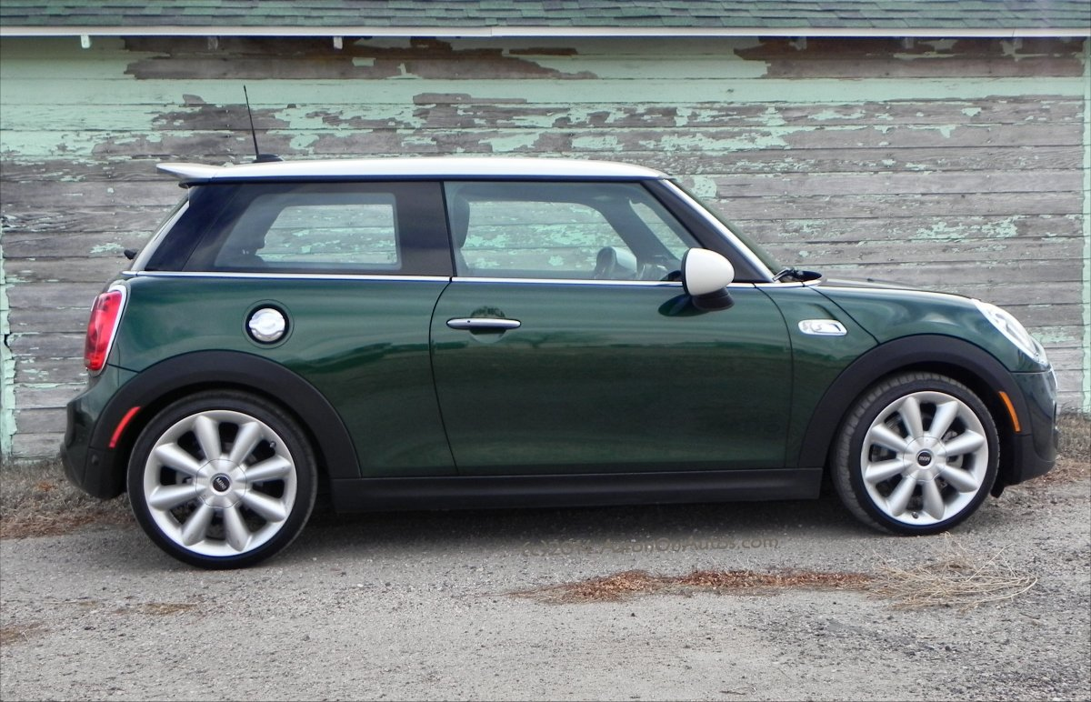 2014 Bmw Mini Cooper S Interior Review Aaron On Autos