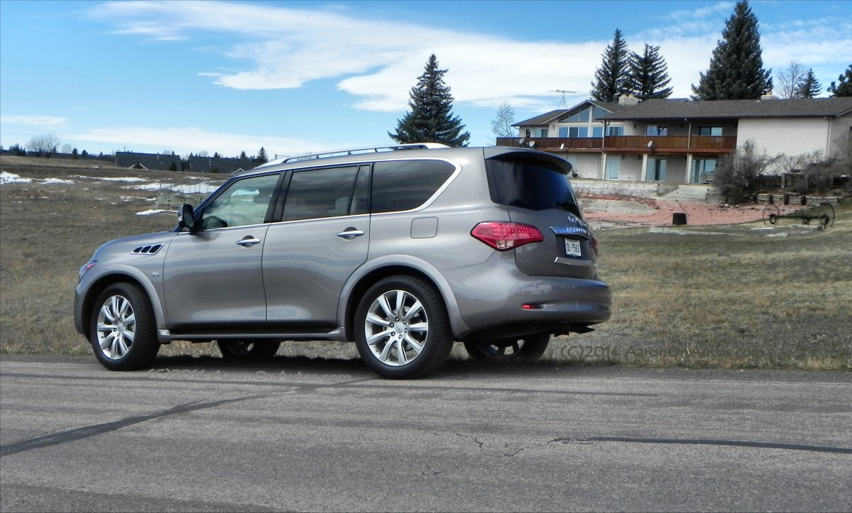 2014 infiniti qx80 awd is luxury that needs no upgrade aaron on autos. Black Bedroom Furniture Sets. Home Design Ideas