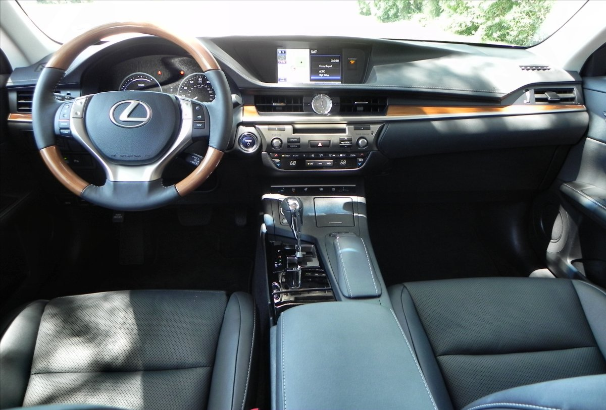 es is interior automobile fine one carnewscafe lexus