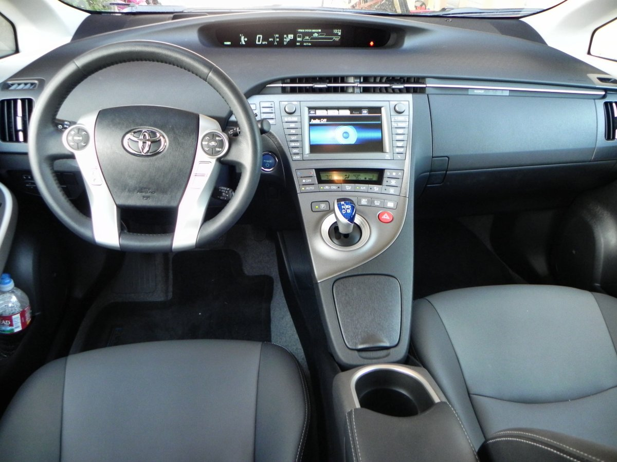 2014 Toyota Prius 5 - Epitomizing Hybrid Efficiency in the ...