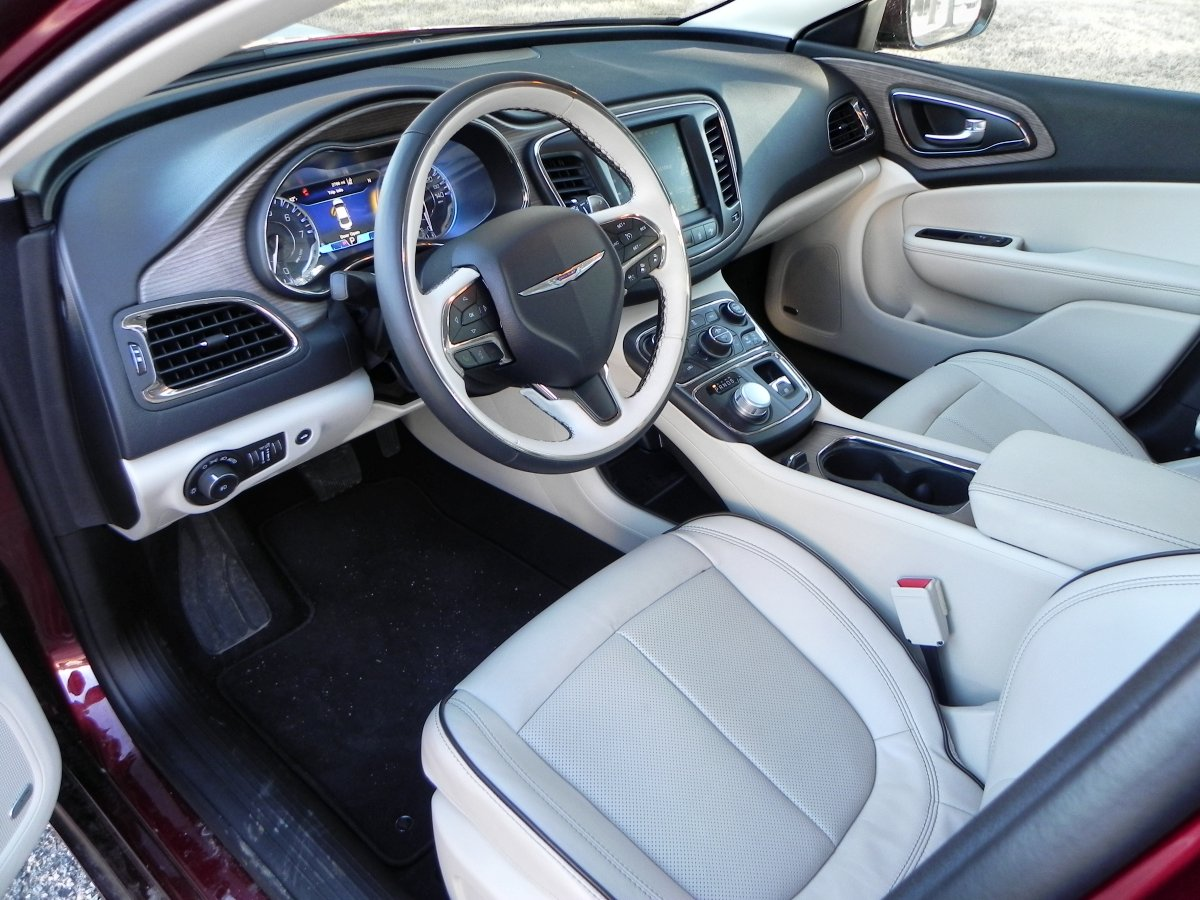 2015 Chrysler 200C Interior Review