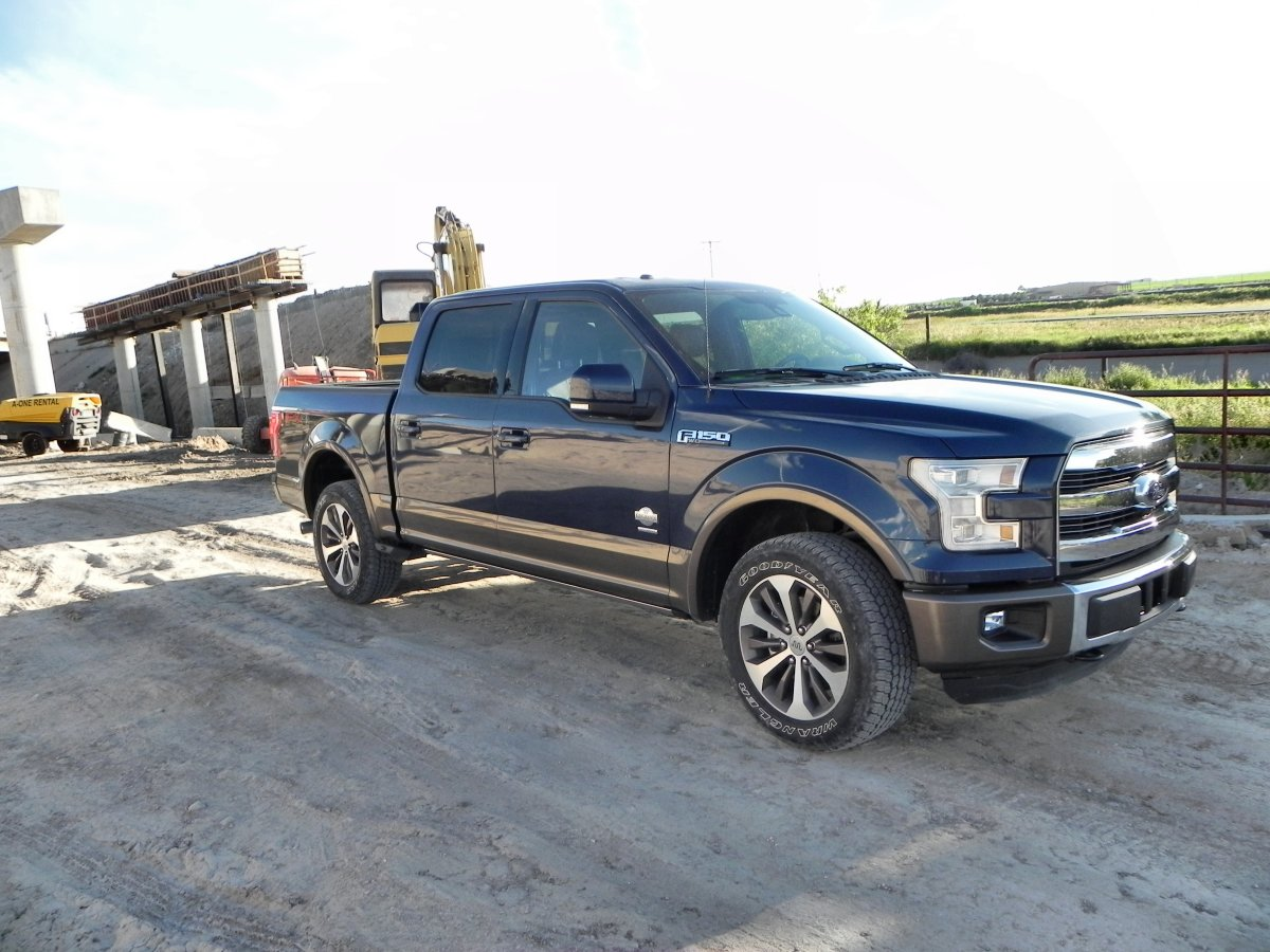 2015 Ford F 150 King Ranch Is Comfortable Aluminum Muscle Aaron On