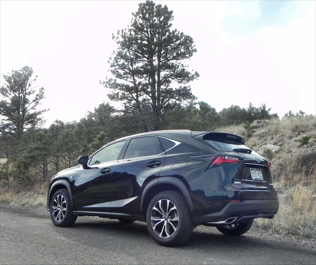 2015 Lexus NX 200t interior review | Aaron on Autos