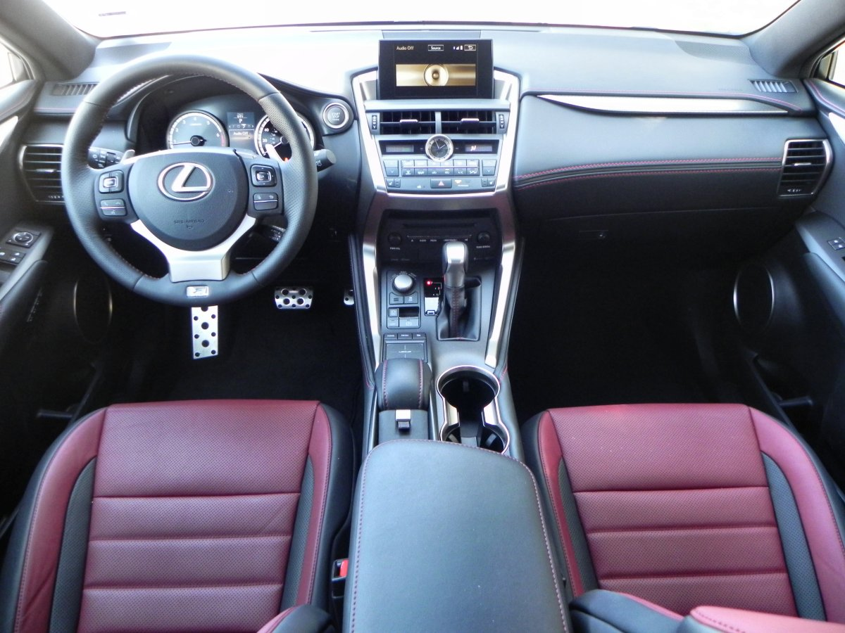 2015 lexus nx 200t interior review aaron on autos. Black Bedroom Furniture Sets. Home Design Ideas