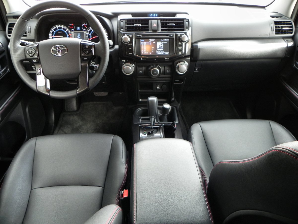 2015 Toyota 4runner Trail Interior Review Aaron On Autos