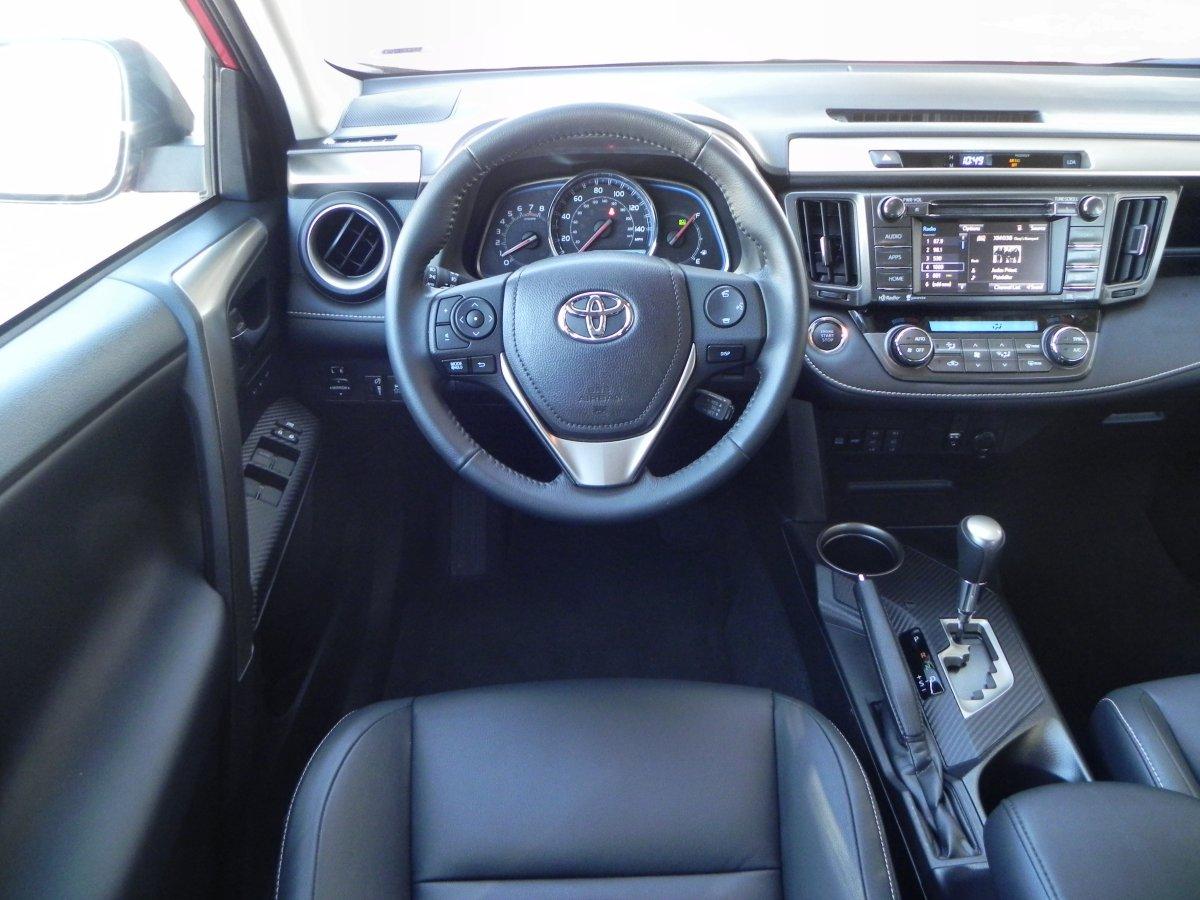 Wonderful [Show As Slideshow] · 2015 Toyota RAV4   Interior ...