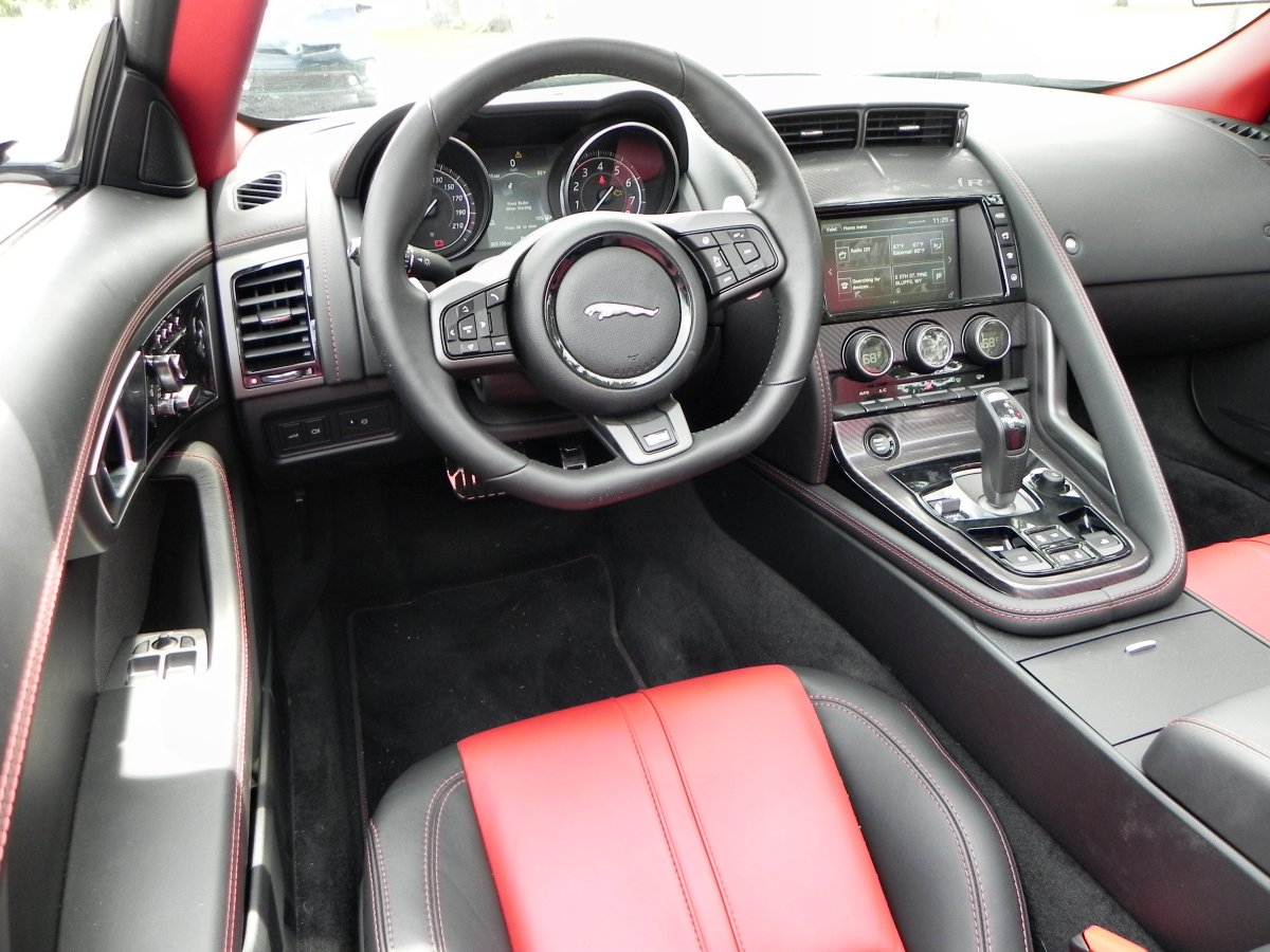 Jaguar f type 2016 interior