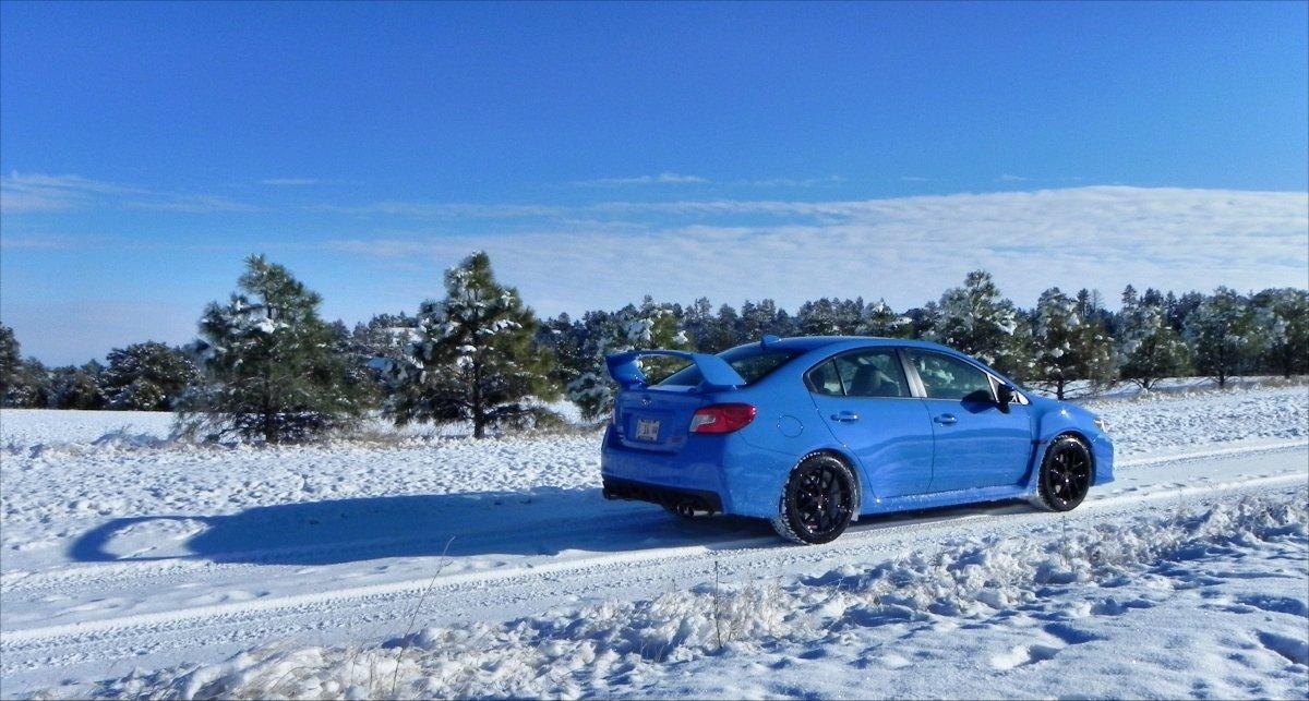 Subaru Outback 2015 On Snow Autos Post