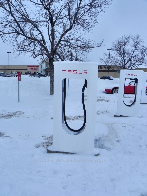 Cheyenne Tesla Supercharger Stations In Winter Aaron On Autos