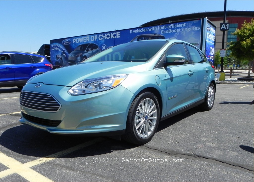 Checking Out the Ford Focus Electric and Escape EcoBoost
