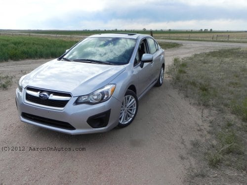 2012 Subaru Impreza 2.0i Premium PZEV – The Go-Anywhere Fuel Sipper