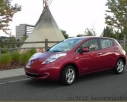 2012 Nissan Leaf – Going for An Electric Glide