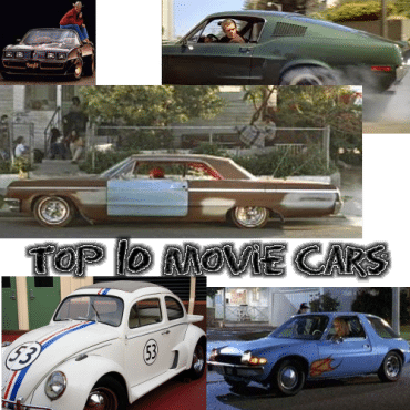 Torque News' Top 10 Movie Cars