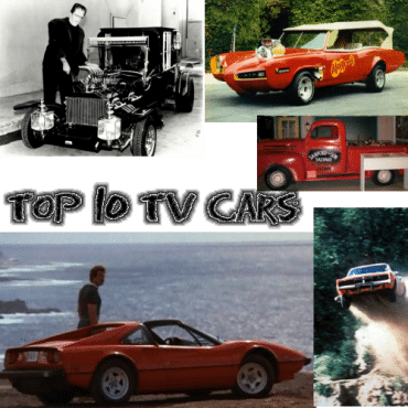 Torque News' Top 10 Television Cars