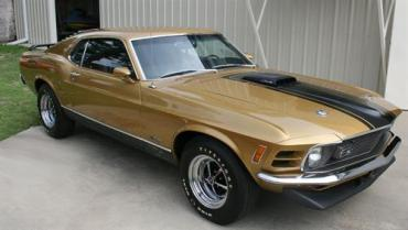 Rare 1970 Ford Mustang Mach I Cobra Turbo Jet to auction next month