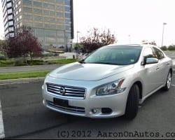 2012 Nissan Maxima – The Luxury of Economy