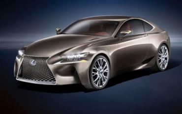 New Lexus LF-CC Concept revealed ahead of Paris show