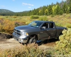 2013 Ram 1500 V6 – a Full-sized, Full-powered Work Truck with 25 MPG Highway