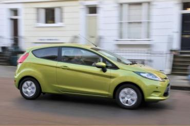 108.78 MPG in a Ford Fiesta