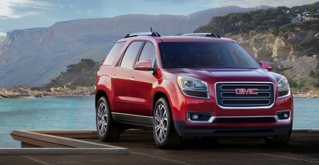 2013 GMC Acadia – a high class SUV for the masses