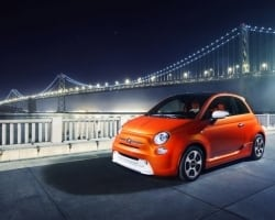 Fiat introduced 2013 Fiat 500e at LA Auto Show