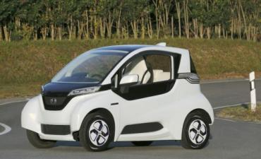 Honda unveils tiny electric Micro Commuter Prototype