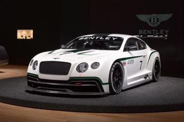 Bentley returns to its speed-demon roots at LA Auto Show