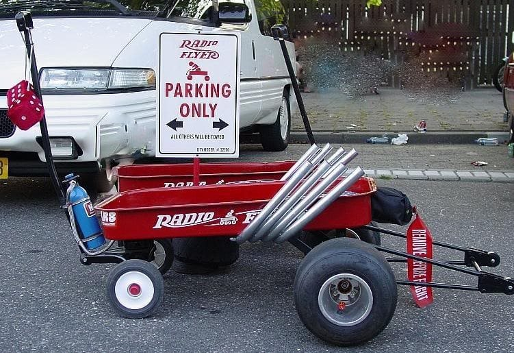 Radio Flyer Dragster