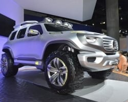 Mercedes-Benz Ener-G-Force Concept is a Glimpse Into the Future of Green Offroading