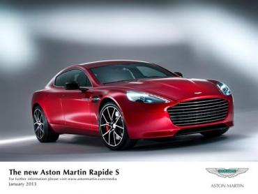 Aston Martin Rapide S debuts with more power, better looks