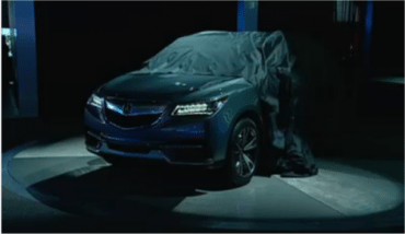 2014 Acura MDX Prototype makes debut at NAIAS, giving powerful design cues for future SUVs