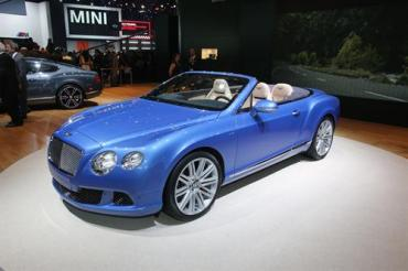 Bentley unveils new Continental GT Speed Convertible at NAIAS