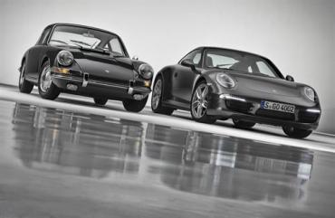 Porsche 911 celebrating 50 years