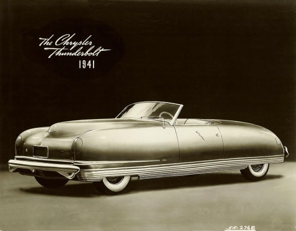 1941 Chrysler ThunderboltCarNewsCafe.com