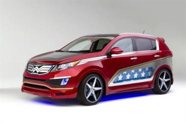 Wonder Woman gets her own 2013 Kia Sportage