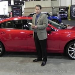 First Look at the 2014 Mazda6 – style and class with a host of options
