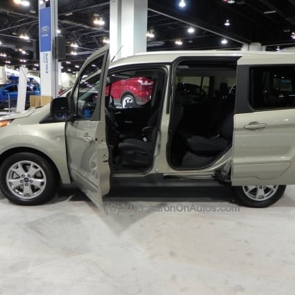 2014 Ford Transit Connect Wagon first drive – a host of options in the first multi-fuel minivan