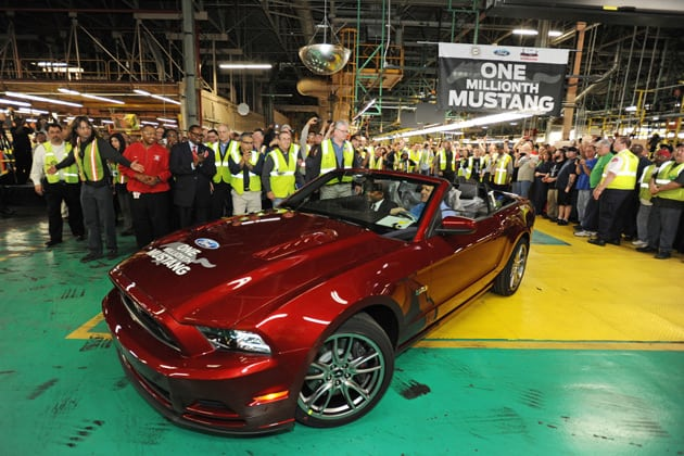 Ford's Flat Rock Plant Celebrates One Millionth Mustang – Guys Gab