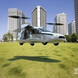 The Terrafugia TF-X – a plug-in hybrid flying car?