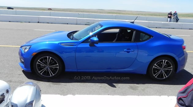 Ripping Up The Racetrack In A 2013 Subaru BRZ Premium – Guys Gab