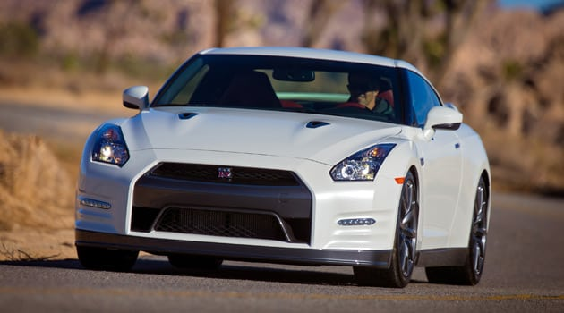 On The Track With The 2014 Nissan GT-R Premium