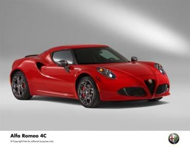 2014 Alfa Romeo 4C will debut on the track at Goodwood