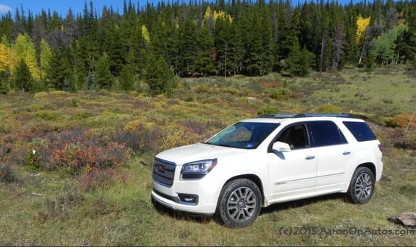 The 2013 GMC Acadia is a high falutin' SUV that everyone can enjoy – Cheyenne Auto Review | Examiner.com