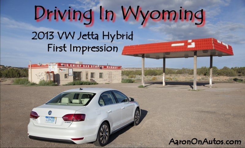 Driving in Wyoming with the 2013 VW Jetta Hybrid