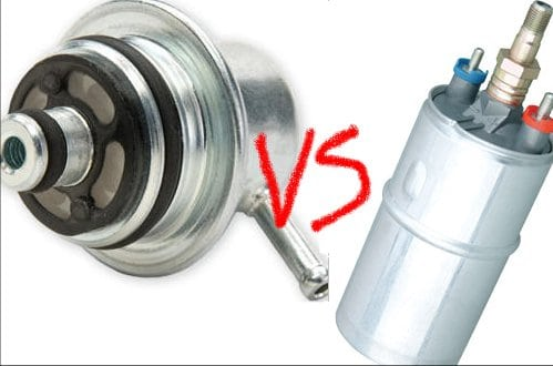 Bad Fuel Pump vs Bad Fuel Pressure Regulator