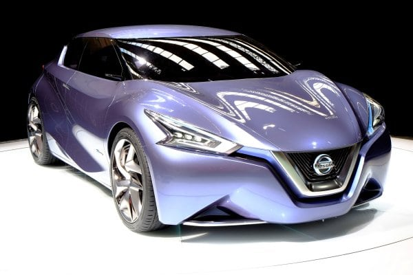 The Nissan Friend-Me Concept at Frankfurt is a connected wow machine