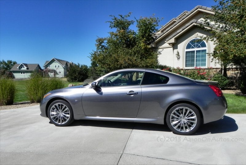 2014 Infiniti Q60 – a powerfully refined sport coupe