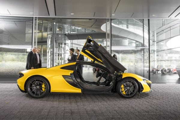 0-60 in 2.8 seconds: Performance numbers for the McLaren P1 confirmed
