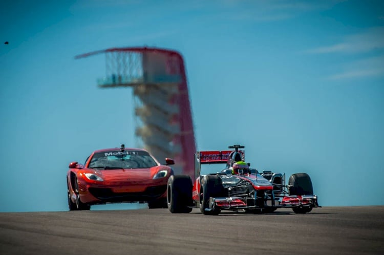 Jay Leno's Garage does McLaren Day at Circuit of The Americas