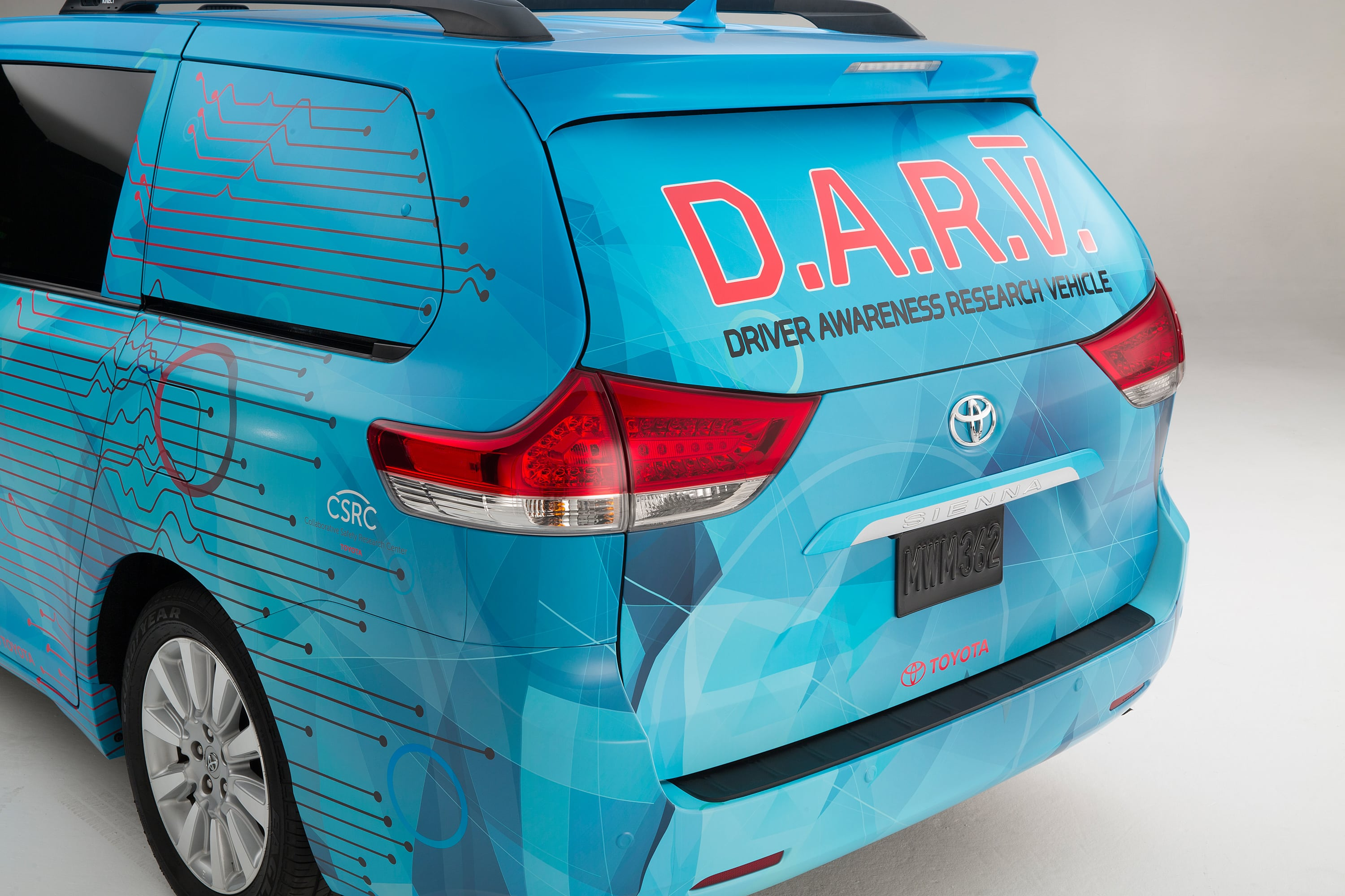 Toyota using DARV with Microsoft Kinect to combat distracted driving